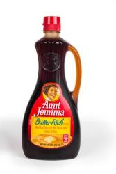 Heirs of Anna Short Harrington, the woman known as Aunt Jemima, have filed a $2 billion lawsuit against Quaker Oats, PepsiCo, and others. The image on current bottles is actually of her daughter.
