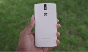 An image of the OnePlus smartphone.