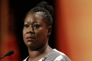In this July 26, 2013 file photo, Sybrina Fulton, mother of Trayvon Martin, speaks during the National Urban League's annual conference in Philadelphia.
