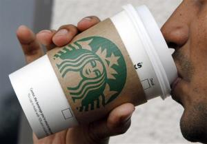 Starbucks is experimenting for the first time with mobile stores.
