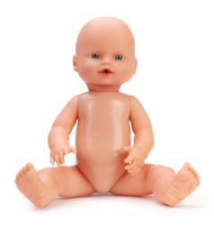 A woman was arrested after trying to get into a maternity ward with a doll instead of a baby.