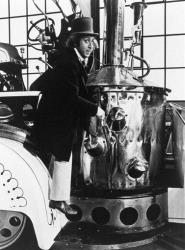 This photo originally released by NBC shows Gene Wilder as Willy Wonka.