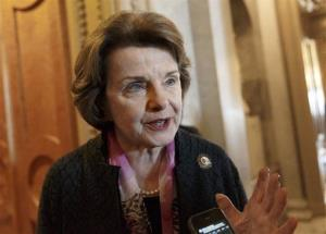 This March 27, 2014, file photo shows Senate Intelligence Committee Chair Sen. Dianne Feinstein, D-Calif.