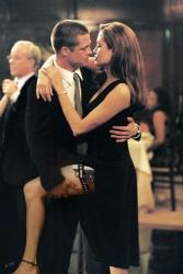 In this undated file photo provided by 20th Century Fox, Brad Pitt and Angelina Jolie appear in a scene from Mr. & Mrs. Smith.