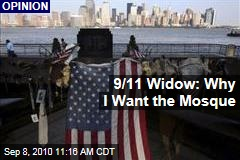 9/11 Widow: Why I Want the Mosque