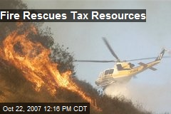 Fire Rescues Tax Resources