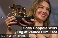 Sofia Coppola Wins Big at Venice Film Fest