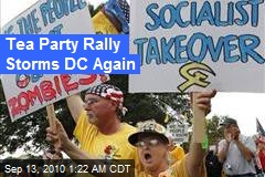 Tea Party Rally Storms DC Again