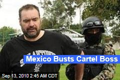 Mexico Busts Cartel Boss