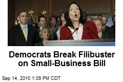 Democrats Break Filibuster on Small-Business Bill