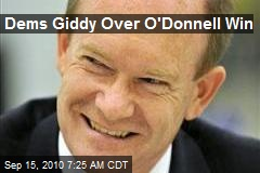 Dems Giddy Over O'Donnell Win