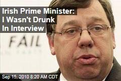 Irish Prime Minister: I Wasn't Drunk In Interview