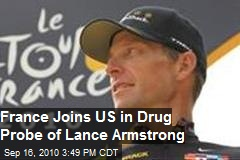 French join US in Armstrong drug probe