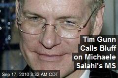 Tim Gunn Calls Bluff on Michaele Salahi's MS