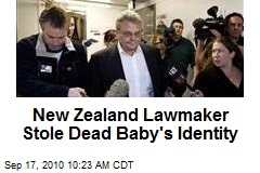 New Zealand Lawmaker Stole Dead Baby's Identity