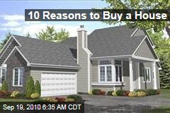10 Reasons to Buy a House