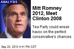 Mitt Romney 2012, Meet Clinton 2008