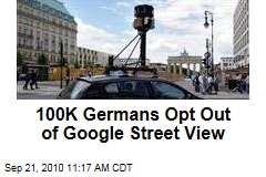 100K Germans Opt Out of Google Street View