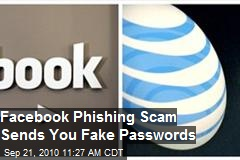 Facebook Scam Exuberantly Sends New Password