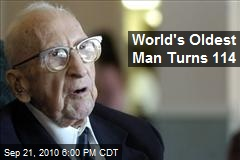 World's Oldest Man Turns 114