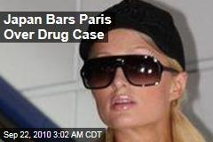 Japan Bars Paris Over Drug Case