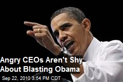 Why CEOs can't stand Obama