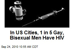 In US Cities, 1 in 5 Gay, Bisexual Men Have HIV