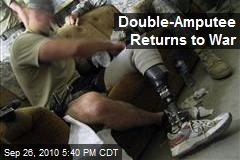 Double-Amputee Returns to War
