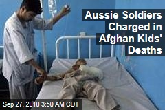 Aussie Soldiers Charged in Afghan Kids' Deaths