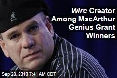 Wire Creator Wins Genius Grant