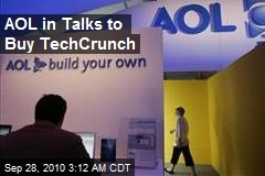 AOL in Talks to Buy TechCrunch
