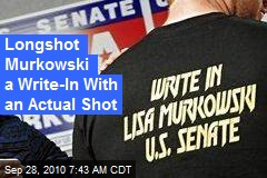 Longshot Murkowski a Write-In With an Actual Shot