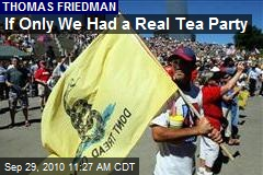 If Only We Had a Real Tea Party