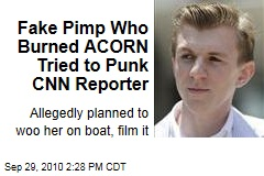 Fake Pimp Who Burned ACORN Has Less Luck With CNN