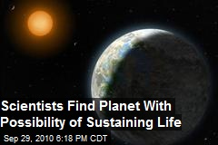 Potential 'Goldilocks' Planet Found