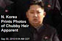 N. Korea Prints Photos of Chubby Heir Apparent