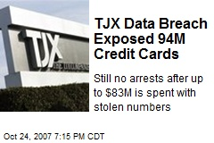 TJX Data Breach Exposed 94M Credit Cards