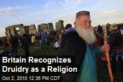 Druidry Officially Recognized As Religion In UK
