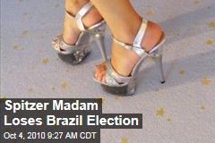Spitzer Madam Loses Brazil Election
