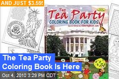 The Tea Party Coloring Book Is Here