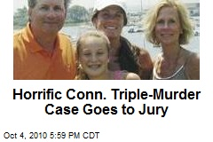 Horrific Conn. Triple-Murder Case Goes to Jury