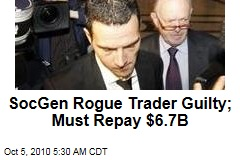 Jerome Kerviel, Societe Generale Rogue Trader, Jailed