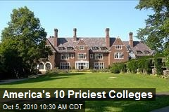 America's 10 Priciest Colleges