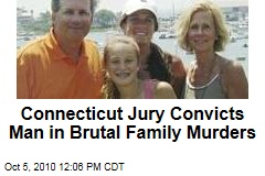 Connecticut Jury Convicts Man in Brutal Family Murders