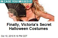 Finally, Victoria's Secret Halloween Costumes