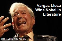Mario Vargas Llosa Wins Nobel in Literature