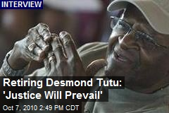 Desmond Tutu Retires, Reflects on What He Learned