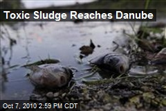 Toxic Sludge Reaches Danube