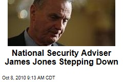 National Security Adviser James Jones Stepping Down
