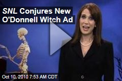 SNL Conjures New O'Donnell Witch Ad